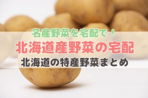 北海道産野菜の宅配